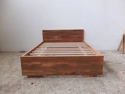 Recycled timber bed