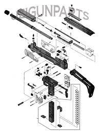 Free templates semi automatic pistol diagram large size