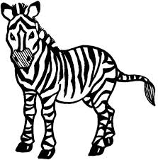 Small Picture Printable Zebra Coloring Pages Coloring Me