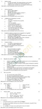 cbse sample papers for class sa french cbse board exam sample papers sa2 class ix french