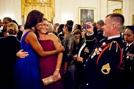 u s department of defense photo essay  first lady michelle obama s service members and their guests at a dinner she and