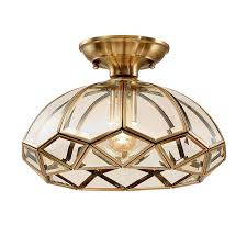 Ccsun Semi Flush Mount Led Ceiling Light Dimmable E26 Lamp Holder