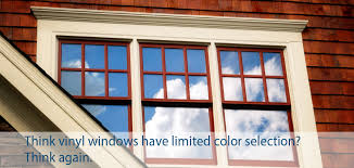 Elegant Colored Vinyl Windows Exterior Finishes Home Finishes Window Design  Group