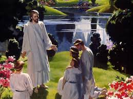 Image result for people in heaven with jesus