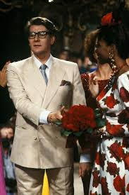 PARIS, FRANCE - JULY <b>24</b>: <b>Yves Saint Laurent</b> at Haute Couture ...