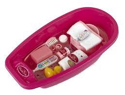 Klein Princess Coralie set de bain pour bébé 12 pièces 51 cm rose -  Poussette de poupée - Achat & prix | fnac