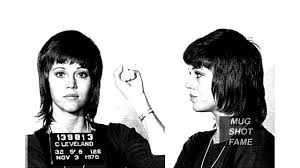 jane fonda  mug shot   youtube