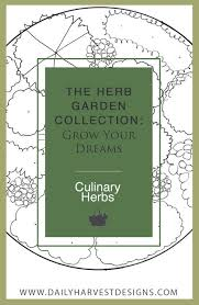 Small Picture The Sage Design The Herb Garden Collection Daily Harvest