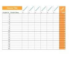 Student Grade Tracker Excel If Organizing Student Grade Sheet Template Excel Daily Sign In