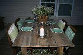 patio dining room tables. build a rustic outdoor dining table, unexpected elegance on remodelaholic.com patio room tables