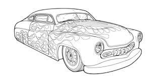 Small Picture Hot Rod Coloring Pages