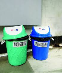 Colour Coded Bins At Stations Go To Waste