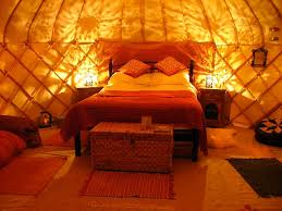 Yurt By The Stream   Cosy Nights In