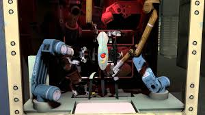 portal 2 turret assembly line 1080p hd