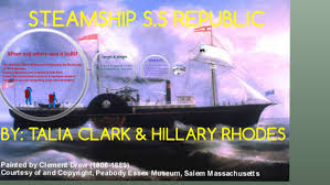 STEAMSHIP SHIPWRECK by alia clark