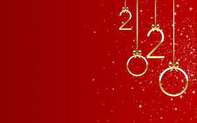 Year 2020, Red wallpaper - uBackground.com