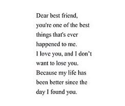 I Love My Best Friend Quotes Extraordinary I Love My Bestfriend Image 48 By MariaD On Favim