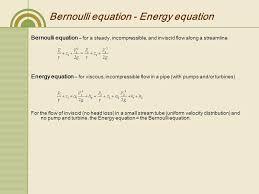 bernoulli 39 s equation pump. 8 bernoulli equation 39 s pump g