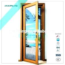wood door with glass insert front and wooden panels china interior doors panel whole teak design