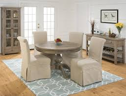 table sets under cherry jofran slater mill pine casual dining room group powell collections dcp skirted parsons chairs furniture and