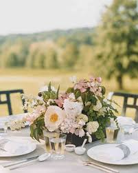 The Prettiest Peony Wedding Centerpieces Martha Stewart Weddings