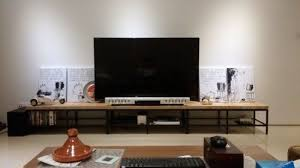 picture of birch u0026 steel tv console ikea hacked tv console ikea s28 ikea