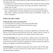 You Didn T Get The Job Letter Save Example Follow Up Email After ...