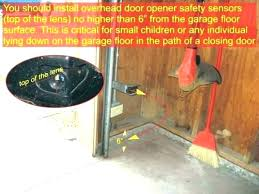 genie garage door sensor bypass safety brackets wire dog opener genie garage door sensor ass wiring diagram co safety bypass opener beam sensors ooting