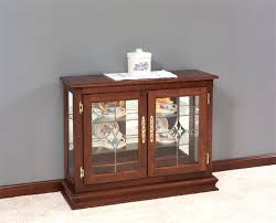 small cabinets for living room white floor living room with espresso glass door small curio cabinet white glass tea sets maximize storage in small living