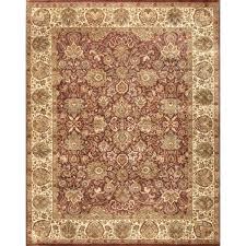 bordered traditional rust ivory fl wool rug 9 x rugs uk pink fl wool rug