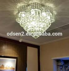 new oval crystal chandelier modern dinning room living lamp length extraordinary shaped