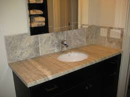 travertine tile bathroom countertops. Simple Travertine Travertine Bathroom Countertops Vanity Silver Inside Tile G