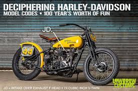Harley Davidson Air Suspension Chart Deciphering Harley Davidson Model Codes 100 Years Worth Of