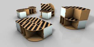 compact cardboard furniture card board furniture