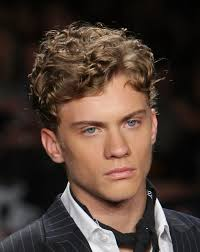 short curly haircut for men 2017
