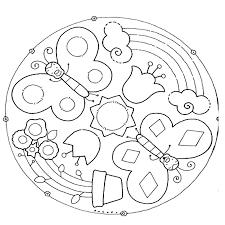 Disegni Da Colorare E Stampare Dei Mandala Fredrotgans