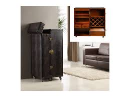 Koffer Bar Holz Kolonial Loric Braun Simple Home