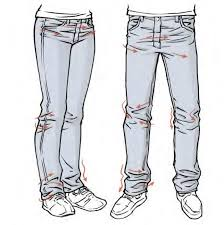 How To Draw Pants Jeans Drawing At Paintingvalley Com Explore Collection Of
