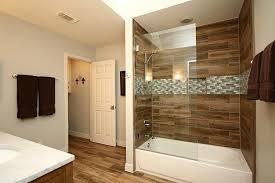 wood look tile shower walls designs within design 14