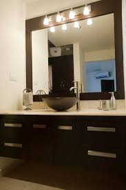 bathroom mirror lighting. Vanity Mirror And Light Fixture Throughout For Bathroom Plan 5 Lighting A