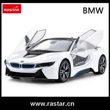 rastar licensed car remote control 1 14 scale bmw i8 rc car open door by
