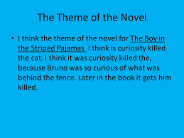 theme of the novel by ryan renner the theme of the novel i think  2 the