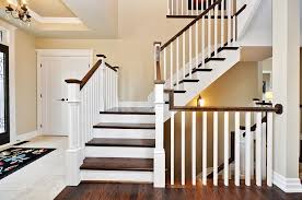 Stair Railing in White