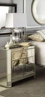 mirrored furniture room ideas heritage mirrored nightstand