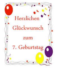 7 Geburtstag Sprüche Kindergeburtstag Glückwünsche