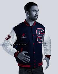 Designer Mens Letterman Jacket Custom Varsity Jackets Leather Sleeves Men Women