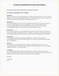 Personal Reference Letter Template Word Collection