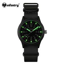 aliexpress com buy infantry mens watches luminous hattori aliexpress com buy infantry mens watches luminous hattori quartz watch relojes nylon watches g10 heavy nylon military army 30m waterproof from