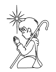 Small Picture Free Christian Coloring Pages for Kids and Young Children Level
