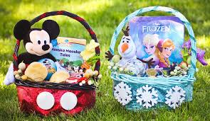 disney visa diy craft easter baskets frozen mickey